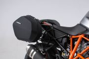 AERO ABS side case system ABS / 600D HCF Polyester. KTM 1290 Super Duke GT. KFT.04.792.60000/B